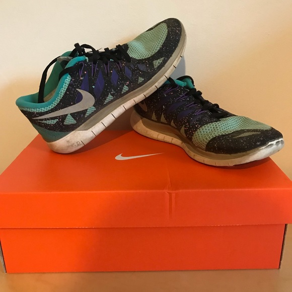 huge selection of 413ab a96ae ... authentic multicolor womens nike free run 5.0 size 8.5 11a7d fc9e8
